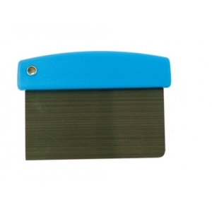 Скребок (разделитель для теста) 16*11,5 см. нерж. пластик. ручка Gimetal