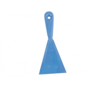 Лопатка для пиццы треугольная 10*24 см. пластик Gimetal