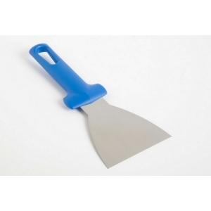 Лопатка для пиццы треугольная. 10*9 см. нерж, ручка пластик Gimetal