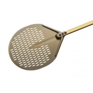 Лопата для пиццы перфорир. d=33 см. l=150 см. алюм. Gold Gimetal