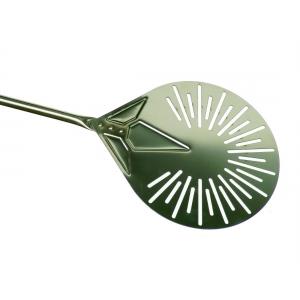 Лопата для пиццы поворотная перфорир. d=23 см. l=150 см. нерж. Gimetal