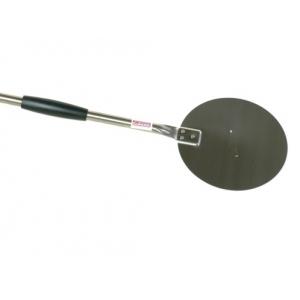 Лопата для пиццы поворотная d=20 см. l=150 см, нерж. Gimetal