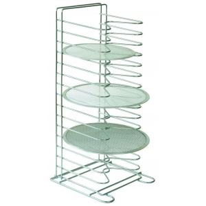 Держатель для сеток для пиццы (15 шт. до d=36 см. ) напольный 30*30*65 см. сталь Gimetal