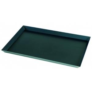 Противень для пиццы 40*60*2 см. прямоуг. голубая сталь Gimetal