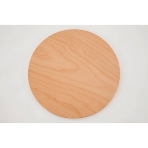 Поднос круглый d=33 см. для пиццы дерев. (бук) Gimetal