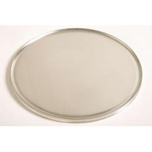 Поднос круглый d=40 см. для пиццы с бортиком, алюм. Gimetal