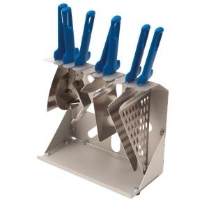 Держатель для лопаток/ножей для пиццы 30*15*24 см. алюм. Gimetal