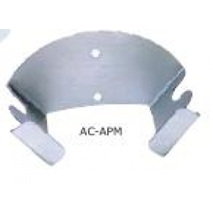 Держатель для лопат (2 шт.) для пиццы настенный 18*9*9 см. алюм. Gimetal