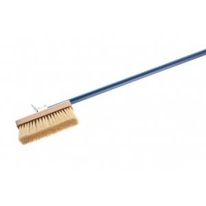 Щетка для печи l=150 см. 20*6,6 см. с медной щетиной Gimetal