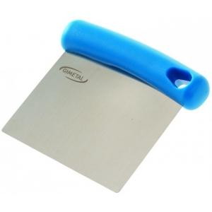 Скребок (разделитель для теста) 8*11,5 см. нерж. пластик. ручка Gimetal