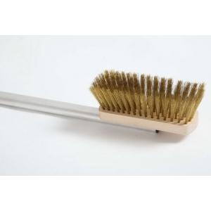 Щетка для печи l=120 см.16*5 см. с медной щетиной, ручка алюм. Gimetal