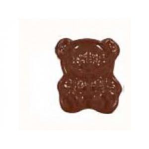 """Форма для отлив.шок.конфет """"Плюш.медведь"""" 35*30 см. h=10 мм. (11 шт.)"""