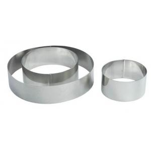 """Форма для выкладки/выпечки """"Круг"""" d=10 см, h=3,5 см MGSteel"""