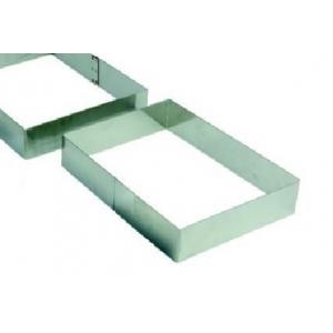 """Форма для выкладки/выпечки """"Прямоугольник"""" 7*5 см h=4 см MGSteel"""