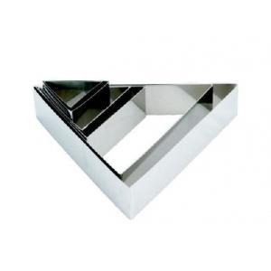 """Форма для выкладки/выпечки """"Треугольник"""" 9*10 см h=5 см MGSteel"""
