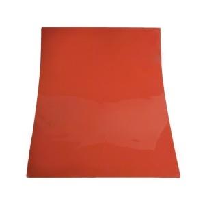 Коврик силиконовый 39,5*59,5 см. красный