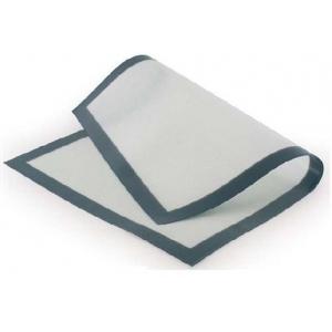 Коврик силиконовый 42*62 см. белый на ткан.основе