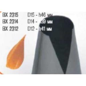 """Насадка кондитер. """"Конус"""" d=12 мм. h=41 мм. нерж."""