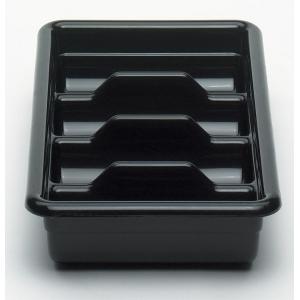Емкость для столовых приборов 4 секции (темно-корич.) Cambro