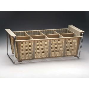 Емкость для столовых приборов 8 секций Luxhstahl