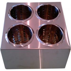 Емкость для столовых приборов 4 емк. нерж. Luxhstahl