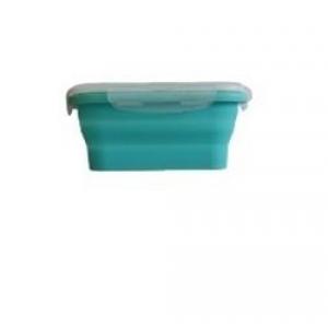 Контейнер для продуктов квадр. 0,54л силиконовый складной /1/*