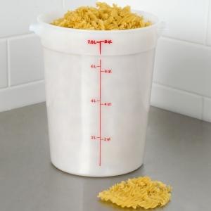 Контейнер для продуктов круглый мерный 7,6л. Cambro