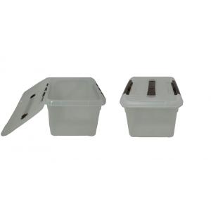 Контейнер для продуктов прямоуг. 8 л 30*23*16 см с ручкой с коричневым зажимом MG/10/