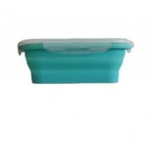 Контейнер для продуктов прямоуг. 1,2л силиконовый складной /1/*