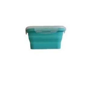 Контейнер для продуктов прямоуг. 0,35л силиконовый складной /1/*