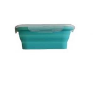 Контейнер для продуктов прямоуг. 0,8л силиконовый складной /1/*