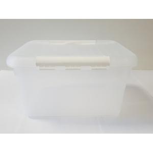Контейнер для продуктов прямоуг. 8 л 30*23*16 см с белым зажимом MG/10/