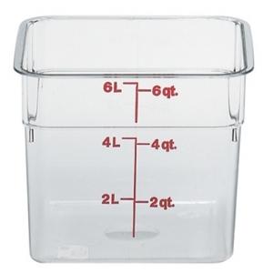 Контейнер для пищ. продуктов прямоуг. мерный  5,7л. поликарб. Cambro