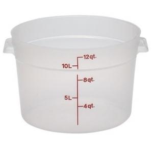 Контейнер для пищ. продуктов круглый мерный 11,4л. Cambro