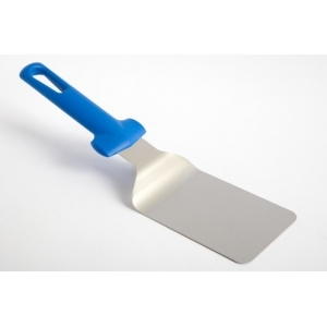 Лопатка L=32 см изогнутая раб. часть 9*12 см.  пластик. ручка Gimetal