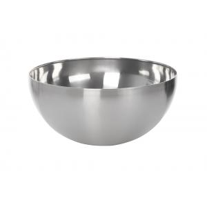 Миска полусферич. 3,5л, d=24см, без подст.и руч.нерж Luxhstahl