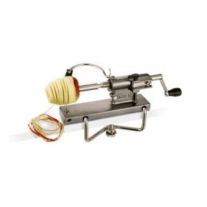 Приспособление для чистки и нарезки яблок, нерж, 39*12,5*21 см. толщина 4 мм Tellier*