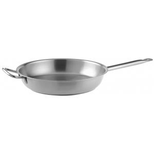 Сковорода d=340мм. нерж. h=70мм. с доп. ручкой (индукция) Pinti