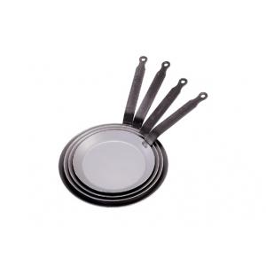 """Сковорода для блинов d=16 см. белая сталь """"Carbone Steel Plus"""" (индукция) De Buyer"""