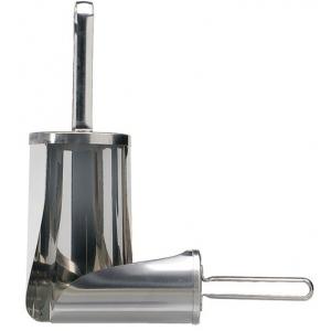 Совок для сыпучих продуктов 1250г 190 мм нерж. Linden