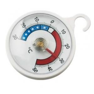 Термометр для холодильника круглый (-30 ° C +50 ° C) цена деления 1 ° C Tellier