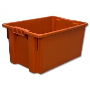 Ящик 600*400*400 мм. №4 конусный, сплошной (красный)