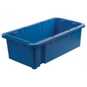 Ящик 600*400*400 мм. №4 конусный, сплошной (синий)