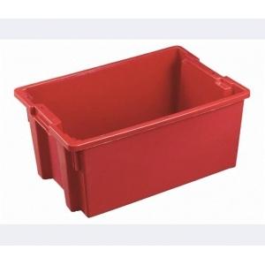 Ящик 600*400*200 мм. конусный, сплошной (красный)