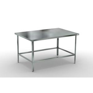 Стол производственный  400х600х870 без борта, каркас -оцинковка