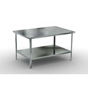 Стол производственный  600х600х870 без борта, каркас -оцинковка