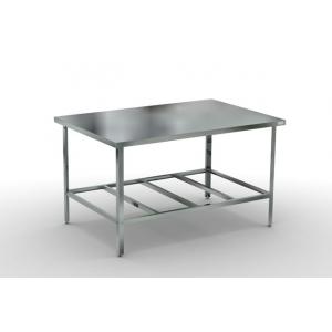 Стол производственный  600х700х870 без борта, каркас -оцинковка
