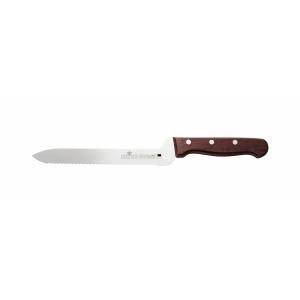 """Нож для хлеба 200мм. деревянная ручка с пяткой Medium """"Luxstahl"""""""