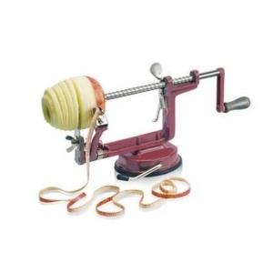 Приспособление для чистки и нарезки яблок, нерж, на вакуумном держателе Tellier