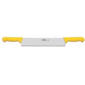 Нож для сыра 300/580 мм. с двумя ручками, желтый PRACTICA Icel